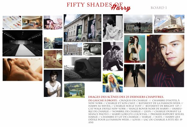 FIFTY SHADES OF HARRY - BOARD 1