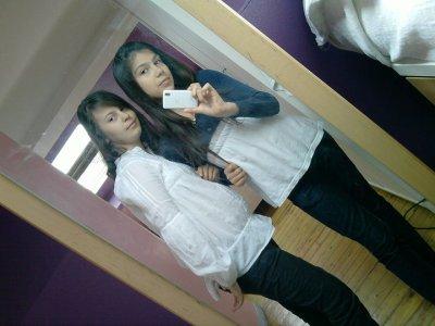 Ma sistha et moi ;) <3