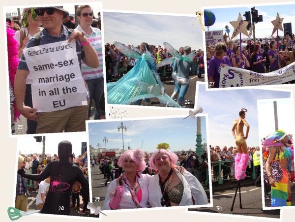 Reportage, en plein coeur de la Gay Pride