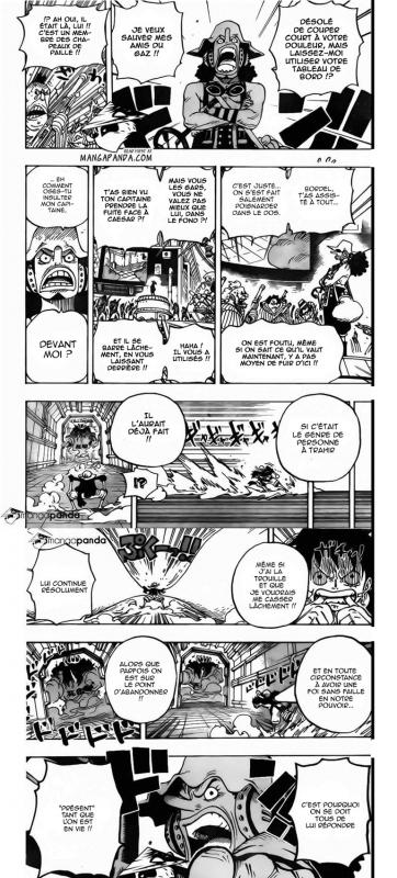 Une fois inébranlable en son capitaine. Le discours du grand Usopp-sama!