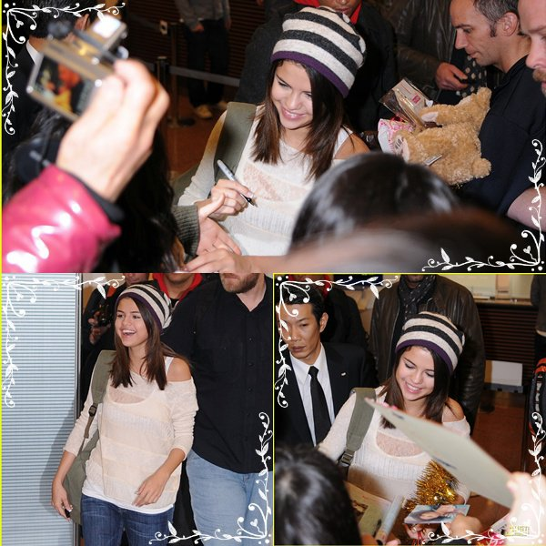 Selena Gomez: Fan Friendly in Tokyo! SAT, 19 FEBRUARY 2011 AT 5:45 PM