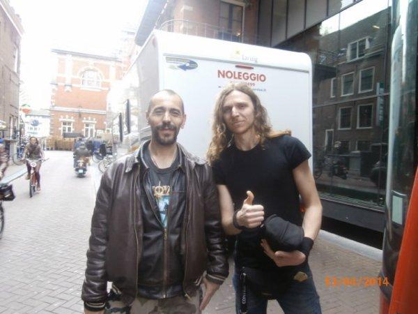 Une rencontre dans Amsterdam
