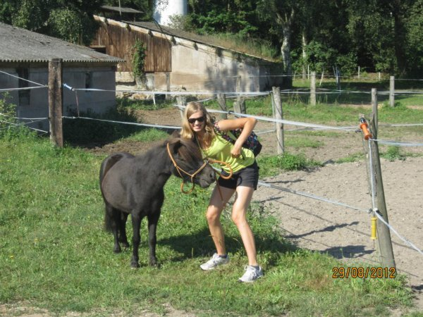 Bref on a marcher 6 heure poney !