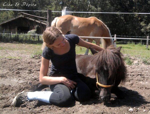 Les hommes prennent mais ne donnent jamais , les chevaux eux , si !