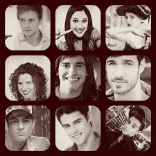Braco,Francesca,Ludmila,Nata,Andres,Lucas,Maxi,Thomas et Frédérico