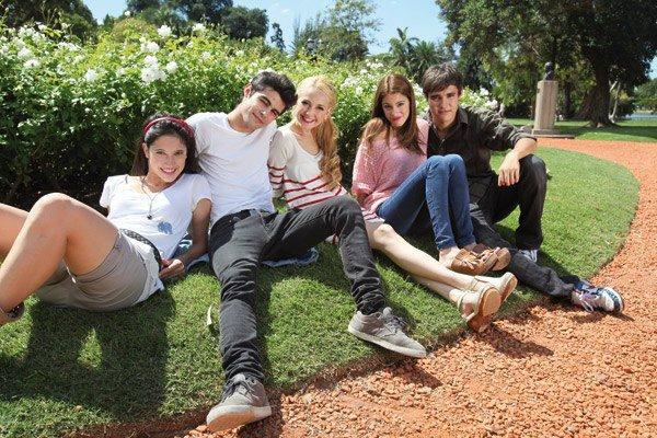 Lodovica,Pablo,Mercedes,Martina et Jorge