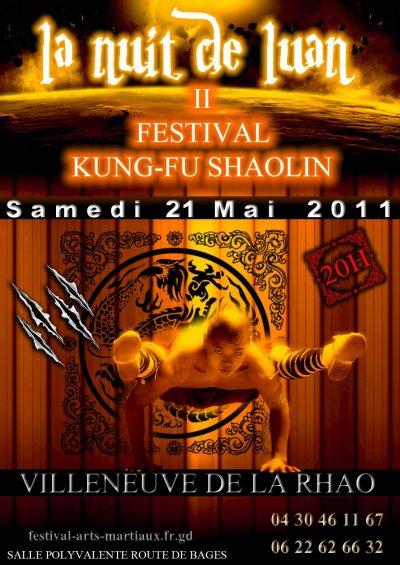 1er festival des arts martiaux Shaolin de Villeneuve de la Raho, Perpignan, Pyrénnées orientales