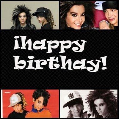 el cumpleaños de los twins kaulitz!