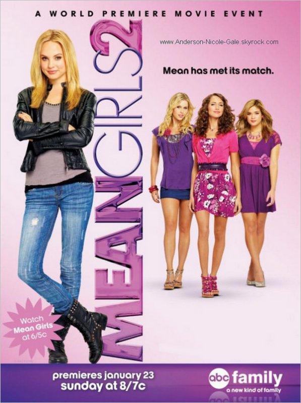 2011 // A quelques jours de la première de Mean Girls 2, le 23 Janvier prochain sur ABC Family, découvrez un nouveau poster du film  Allez- vous regardé le film ? :D