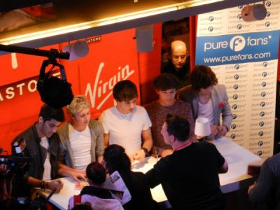 Les One Direction à Paris ♥