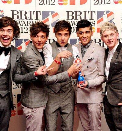Voici notre fierté les One Direction!! ♥