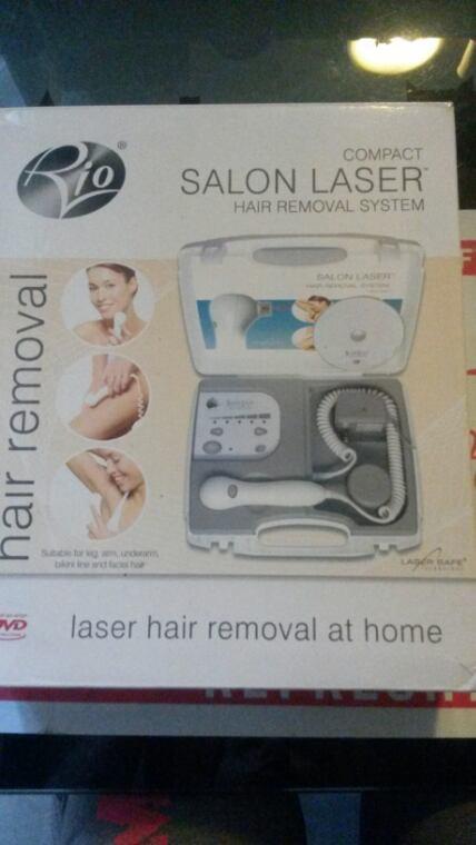 Voilà ce que mon homme m'a acheter un epilateur laser
