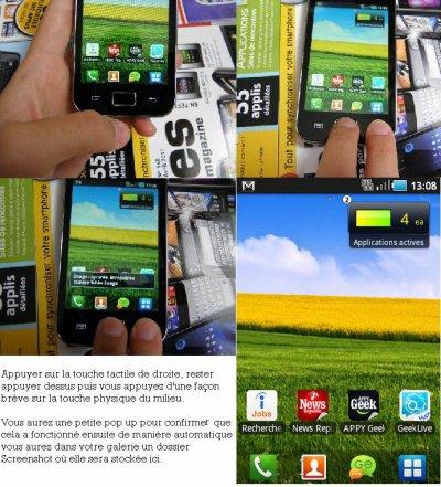 Screenshot pour Samsung