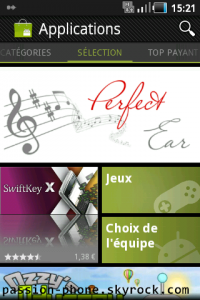 Nouvelle interface de l'Android Market !