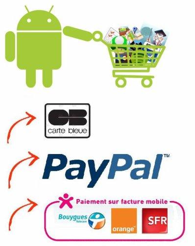 Applications plus accessibles grâce à une Alternative de paiement sur l'Android market