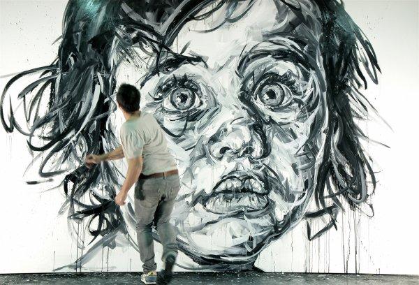 Le peintre Hom Nguyen