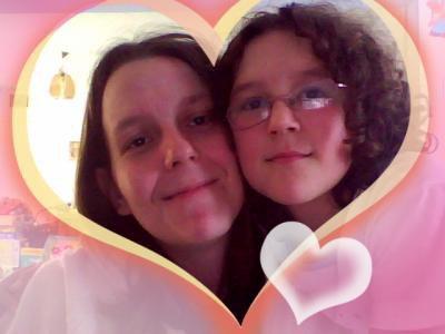 ma maman et moi ( moi quand j ete plus petit)
