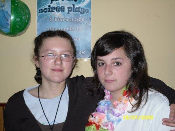 ma couzz (penelope) et moi (avant)