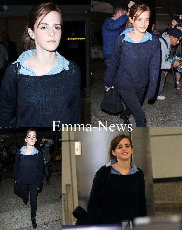 Emma arrive a Los Angeles - Le 28 Février