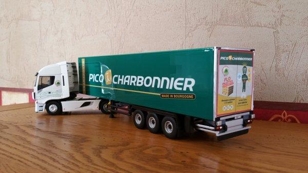 ELIGOR IVECO STRALIS XP 480 SEMI BACHE TRS PICQ & CHARBONNIER