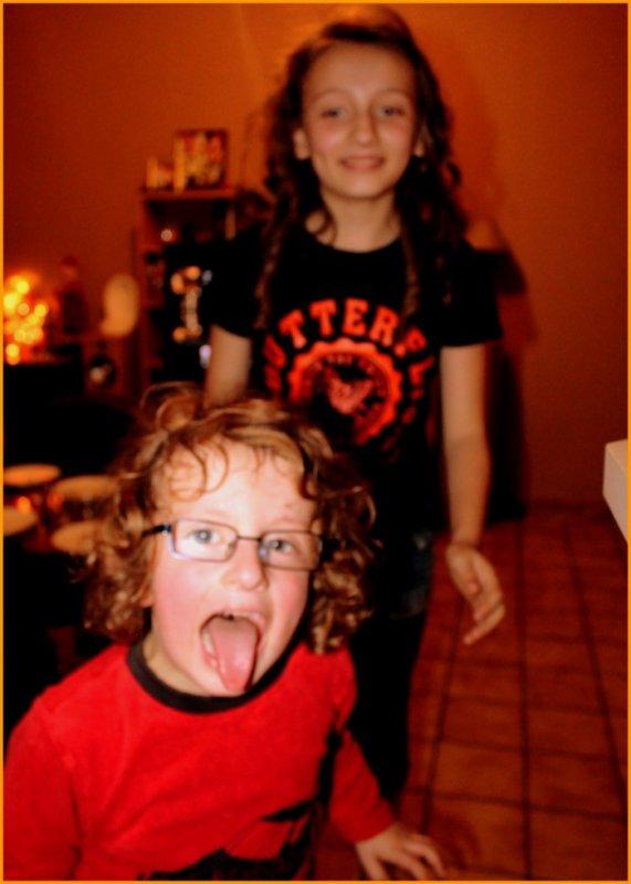 ma fille et son frère