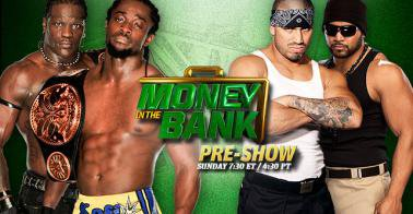 Carte Du PPV de la WWE Money In the Bank