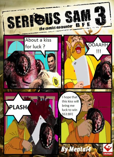 Funny serious sam picture 2