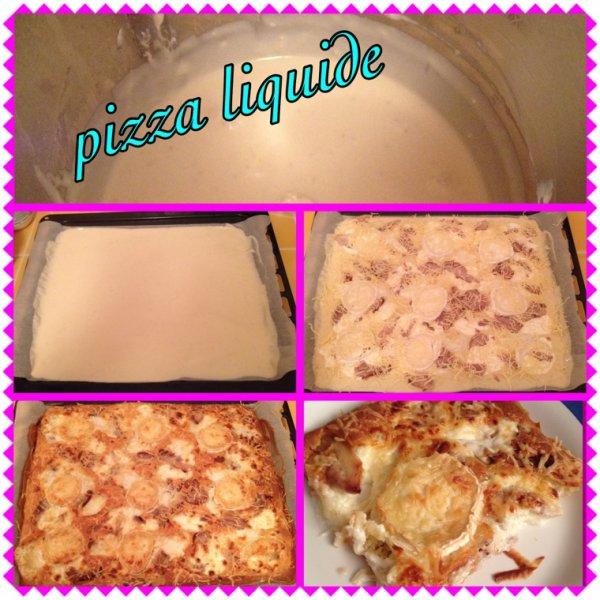 Pizza liquide !!!