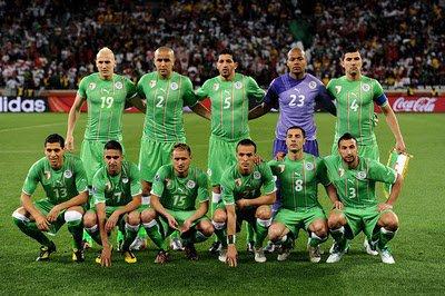 équipe national algerienne