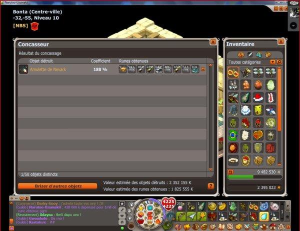 petite amu nevark crafter pour 400 000 k pour une revente de 1m8 de rune