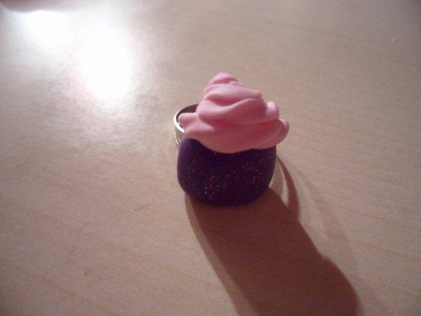 Bague cup cake