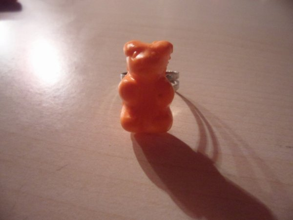 Bague ours haribo
