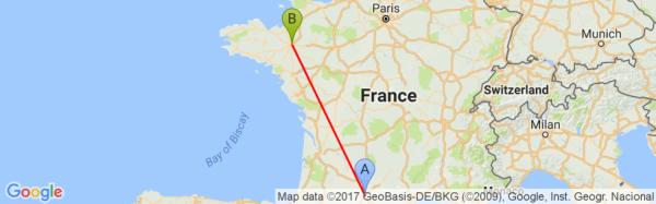 Toulouse lâché à 9h30