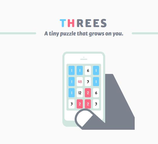 Bon Plan sur Android :  Threes! dispo en promo… à ne pas manquer !