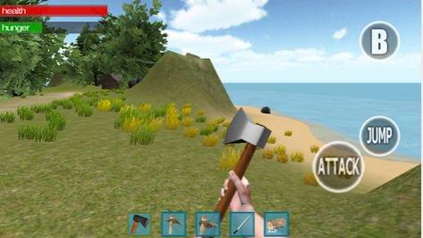 Landlord 3D: Survival Island : explore l'île mystérieuse