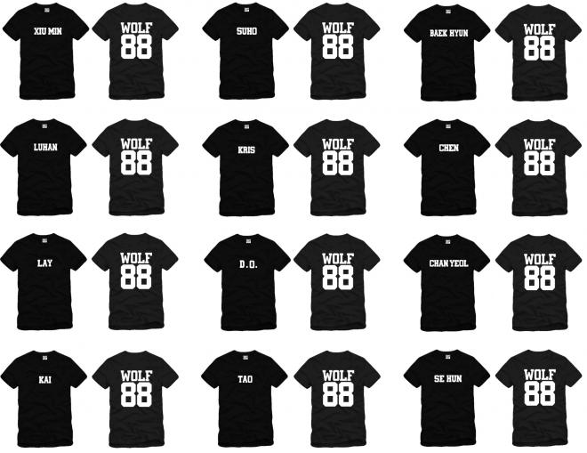 Exo T-shirt Wolf 88