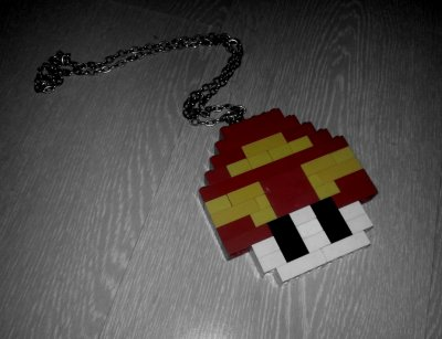 DIY : CL (2ne1) collier champignon inspired mario