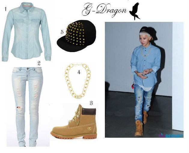 Look jean inspired G-dragon
