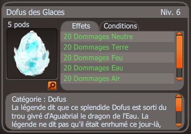 Succès quêtes Dofus des glaces / succès donjon frigost 3