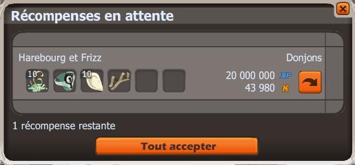 Succès donjon frigost 3 (suite) / double boss (4/4) / bonus