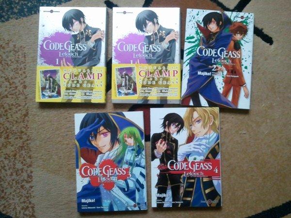 . Manga - Code Geass - Lelouch of the Rebellion. .