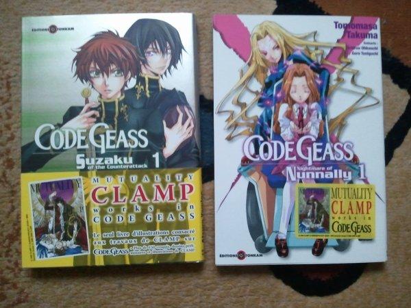 . Manga - Code Geass Suzaku of the Counterattack & Nightmare of Nunnally . .