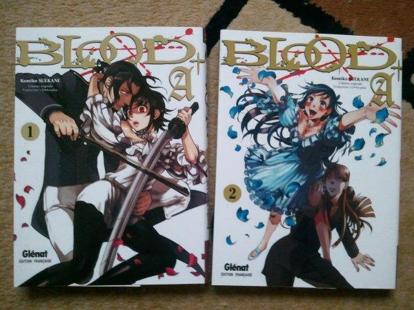 . Manga - Blood A+ . .