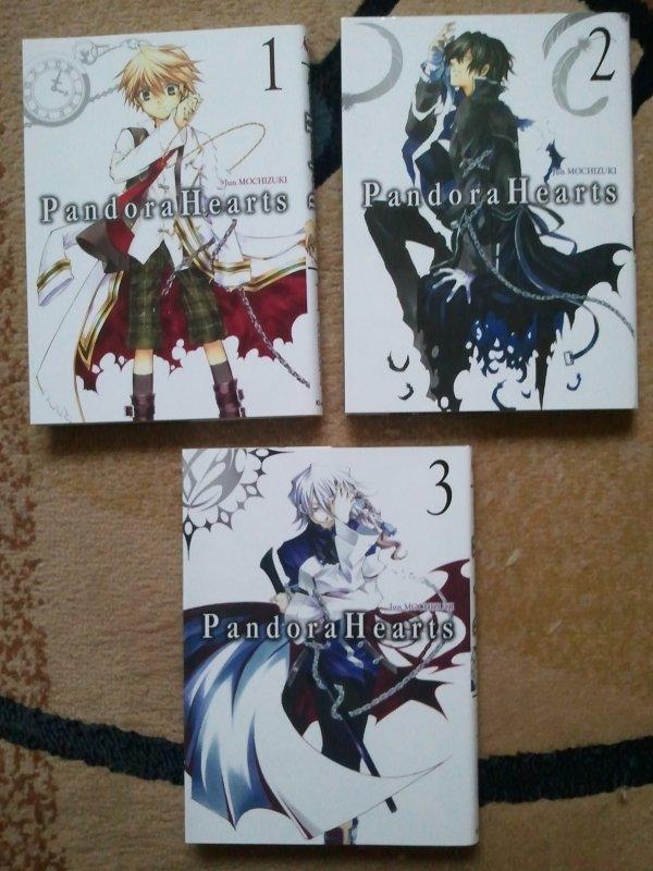 . Manga - Pandora Hearts . .