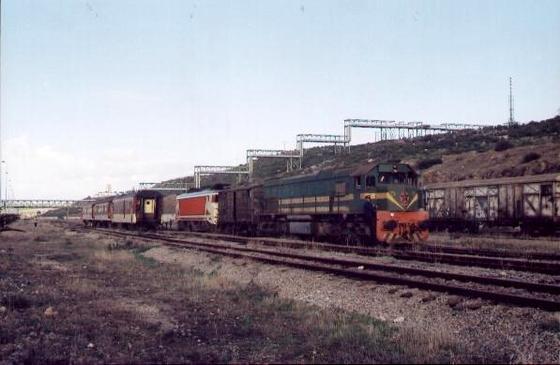 DK-550 et E-1300 à El Jadida