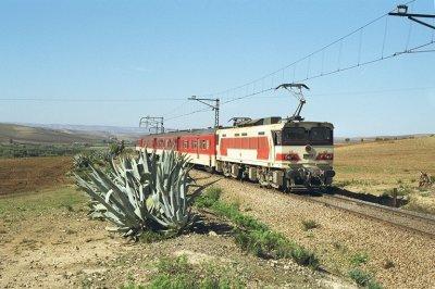 E-1100 entre Meknes et Sidi Kacem