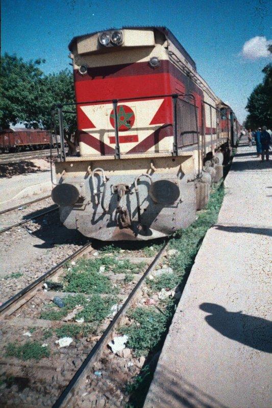 DH 350 à Oujda en Mars 1989