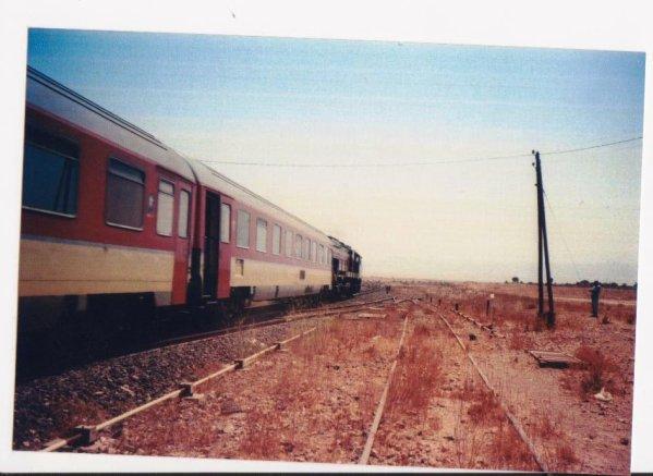 DH 374 Oujda-Fes à l'entrée de Beni Oukil