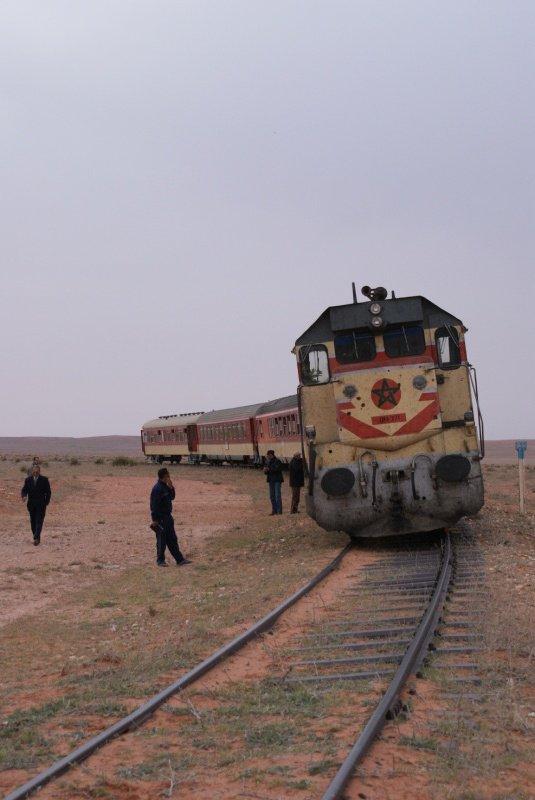 Oriental Express : DH 371 entre Oujda et Bouarfa en 4 avril 2010