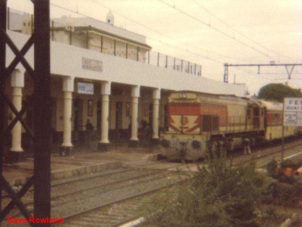 DH 350 à Fes pour Oujda en Octobre 1979